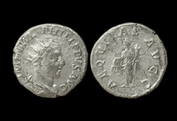 Philip I, the Arab, Antoninianus, Aequitas reverse